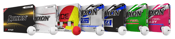Srixon Family of Golf Balls