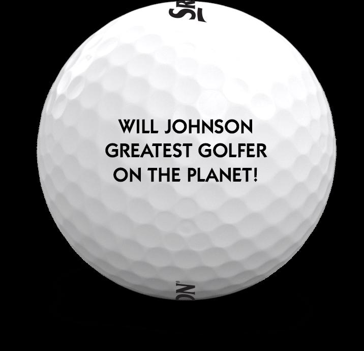 Personalized Srixon Golf Ball
