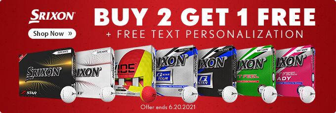 Srixon Buy 2 Dozen Get 1 Dozen Free
