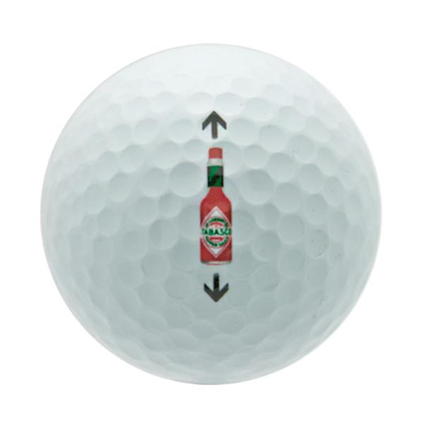 Bottle Alignment Aid Golf Balls