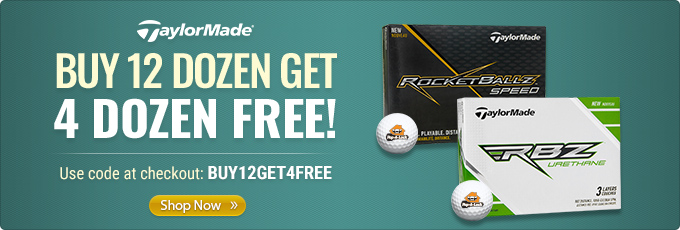 Select TaylorMade Golf Balls - Buy 12 Dz Get 4 Dz Free