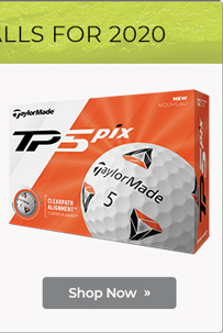 TaylorMade TP5 and TP5x Pix 2.0 Golf Balls