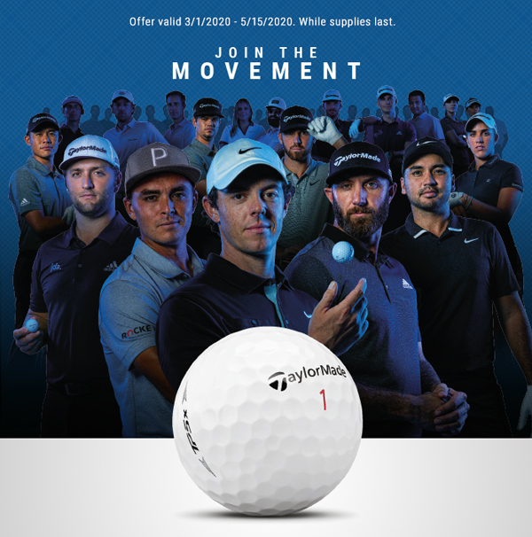 Join the Movement | Image of TaylorMade Professional Players