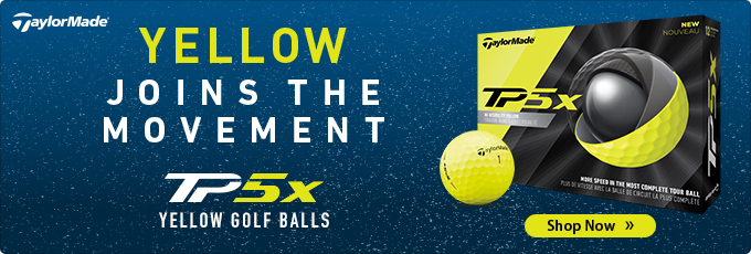 Yellow Joins the Movement - All New TP5x Yellow Golf Balls