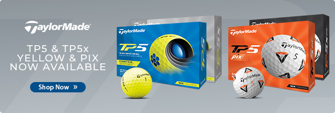Available Now! TaylorMade 2021 TP5 and TP5x Yellow + Pix