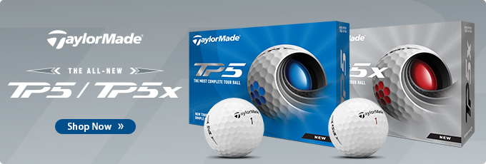 Available Now! TaylorMade 2021 TP5 and TP5x