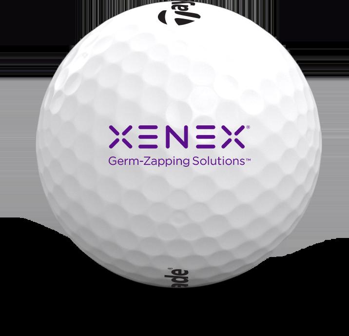 Custom Logo TP5 and TP5x Golf Balls
