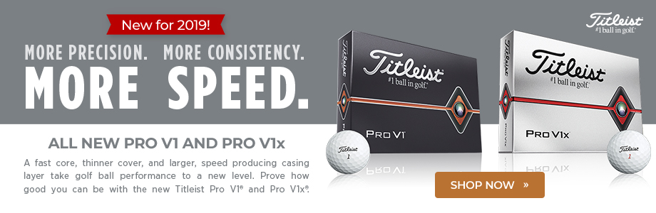 New Titleist Pro V1 and Pro V1x Golf Balls Available Now!