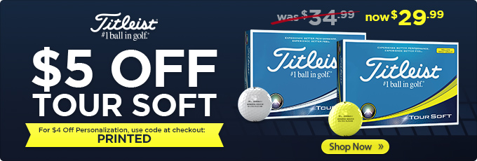 Golf Balls from Top Brands - Personalized, Custom Logo
