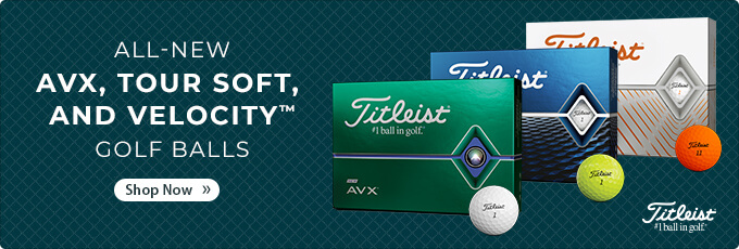 All-New Titleist Golf Balls | AVX, Tour Soft, and Velocity