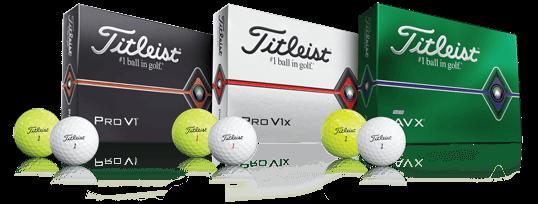 Pro V1, Pro V1x, and AVX Golf Balls