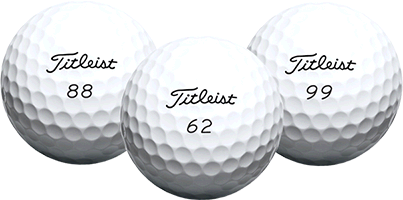 Double Digit Golf Balls
