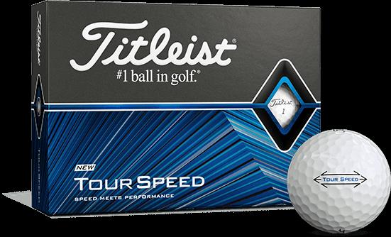 Titleist Tour Speed White Golf Balls