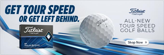 All-New Titleist Tour Speed Golf Balls