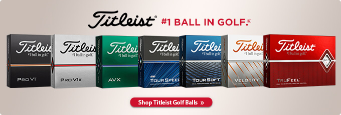 Titleist | #1 ball in golf.