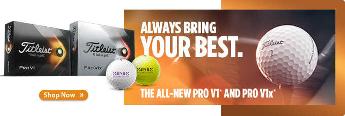 Available Now! Custom Logo Titleist 2021 Pro V1 and Pro V1x