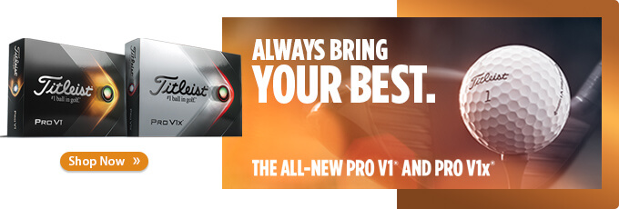 Available Now! Titleist 2021 Pro V1 and Pro V1x