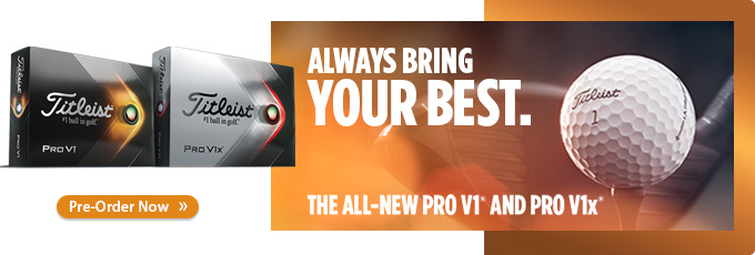 Available for Pre-Order Now! Titleist 2021 Pro V1 and Pro V1x