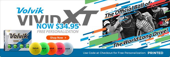 Volvik Vivid XT Price Drop - $34.95 with Free Personalization