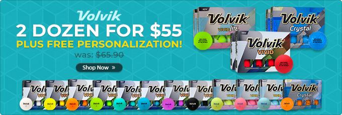 Volvik Golf Balls 2 for $55 - Shop Now