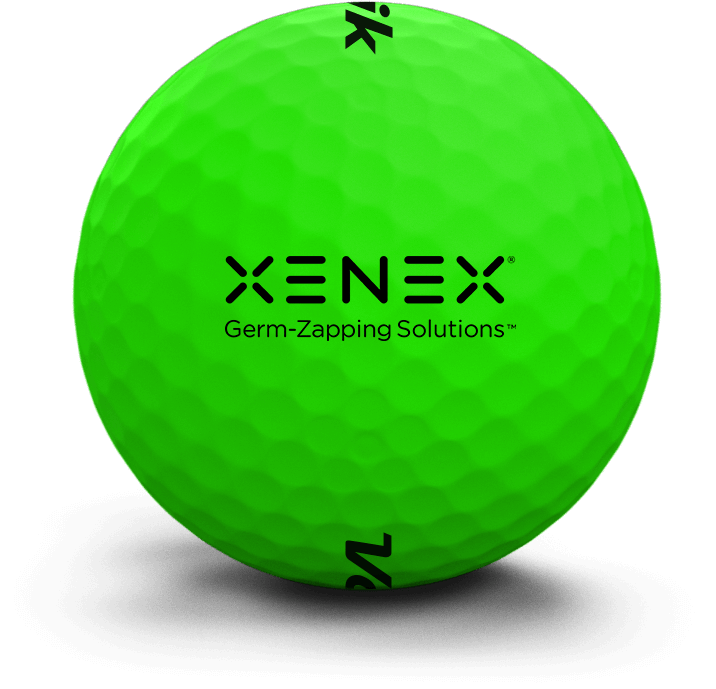 Custom Logo Vivid Golf Ball