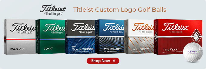 Titleist Custom Logo Golf Balls | Shop Now