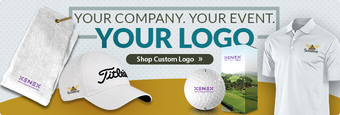 Your Event. Your Company. YOUR LOGO! Shop Custom Logo