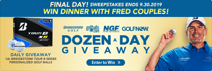 Bridgestone Dozen a Day Giveaway! Win Dinner with Fred Couples!
