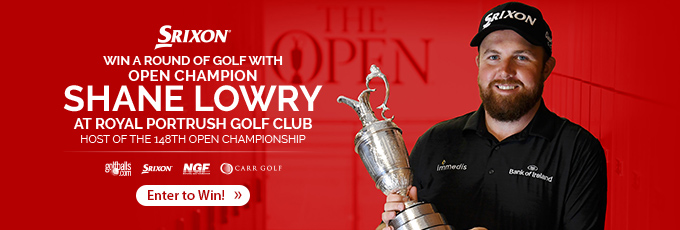 Enter to Win a Round Golf with Shane Lowry!