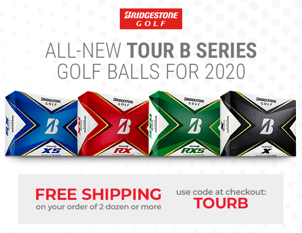 Bridgestone | All-New Tour B Series Golf Balls for 2020 | Free Shipping on 2dz or more with code TOURB