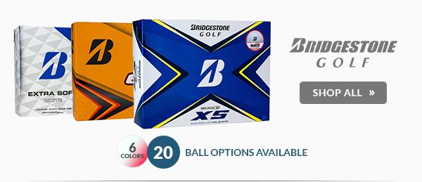 Free Personalization on Bridgestone Golf Balls