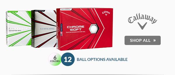 Free Personalization on Callaway Golf Balls