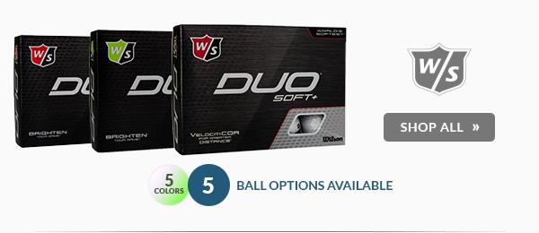 Free Personalization on Wilson Staff Golf Balls