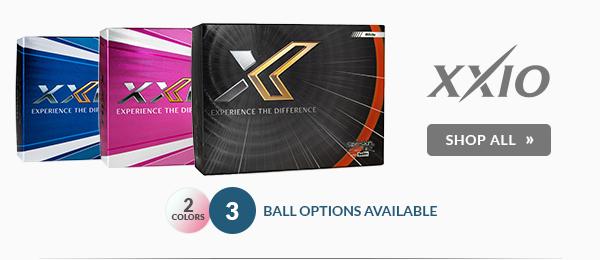 Free Personalization on XXIO Golf Balls