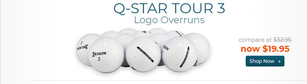 Srixon Q Star Tour 3 Golf Balls