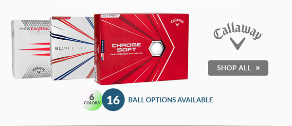 $5.00 Off Personalization on Callaway Golf Balls