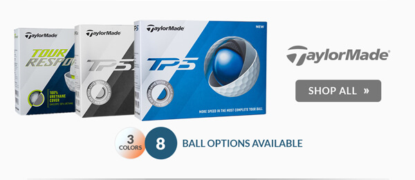 $5.00 Off Personalization on TaylorMade Golf Balls