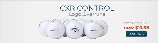 Callaway Golf CXR Control Logo Overrun Golf Balls
