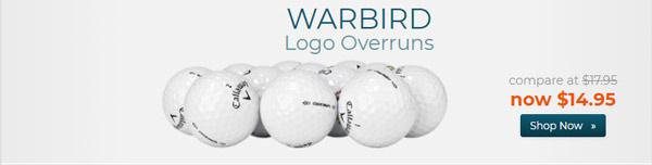 Callaway Golf Warbird Golf Balls