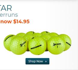 Srixon Q Star Yellow Golf Balls