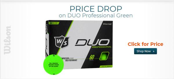 Wilson Staff DUO Professional Green Golf Ball