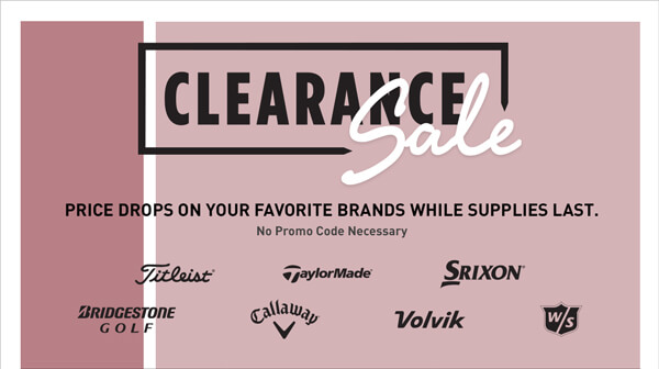 Clearance Sale | Price Drops on Your Favorite Brands While Supplies Last. No Promo Code Necessary.