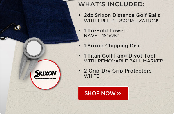 Srixon Distance Fan Pack