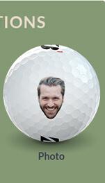 Photo Golf Balls