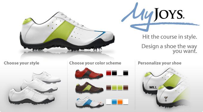Custom FootJoy MyJoys Golf Shoes