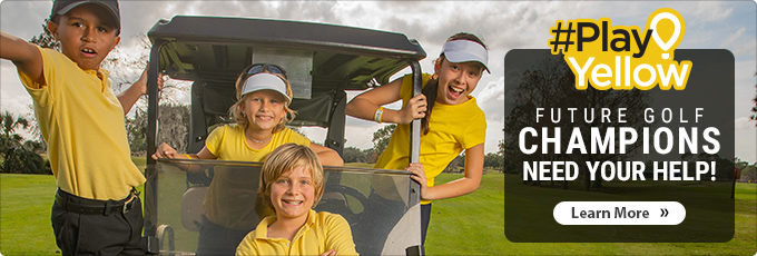 Play Yellow | Future Golf Champions Need Your Help! Learn More