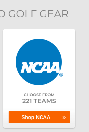NCAA Logo Golf Gear