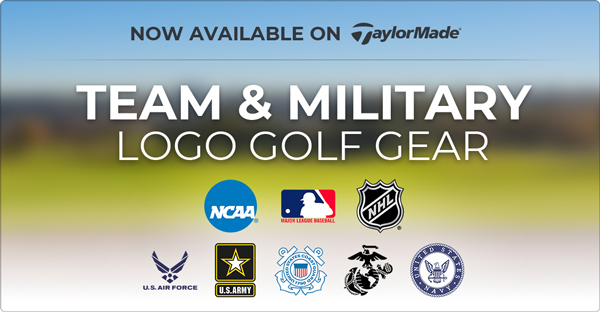 Team and Military Logo Golf Gear