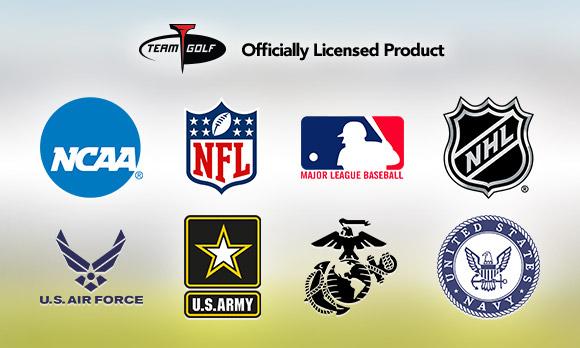 Team & Military Logo Golf Gear