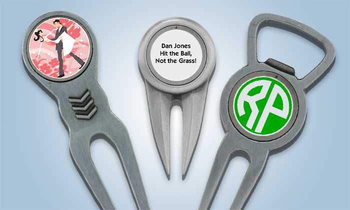 Divot Tools with Personalized Ball Marker